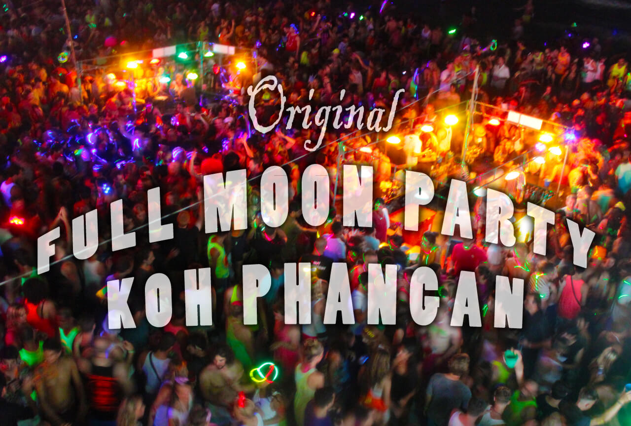 Full Moon Party Koh Phangan 2013: Das Original!